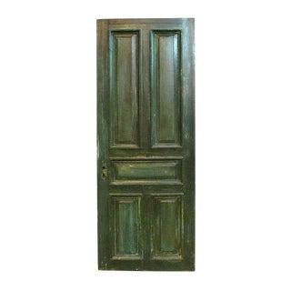 Antique Five Raised Panel Oak Door