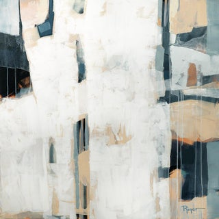 """""""Facade"""" Contemporary Abstract Expressionist Acrylic Painting For Sale"""