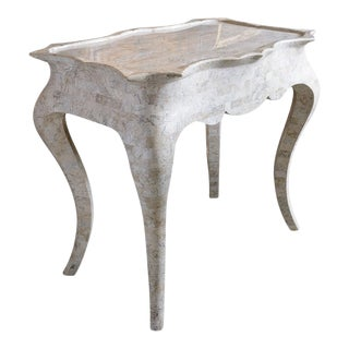 White Stone Table For Sale