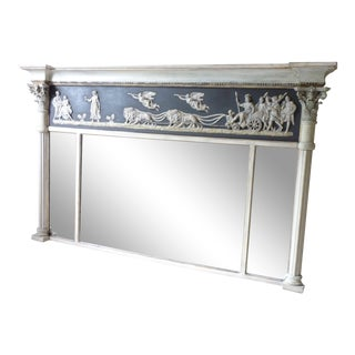 Neoclassical Style Mantle Mirror