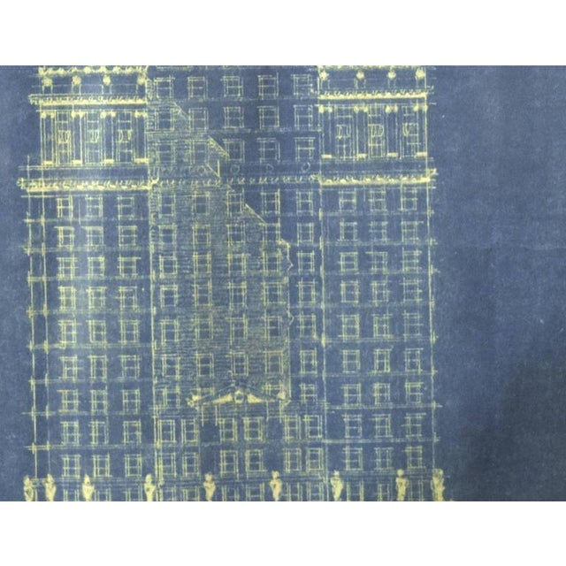 Early 20th Century Blue Print Drawing - Image 3 of 4
