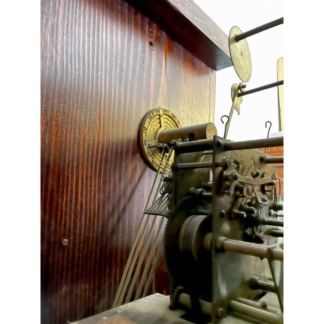 """For sale is a rare American grandfather clock (circa 1915). This clock is the """"801 Hall Chime Clock"""" model by the..."""