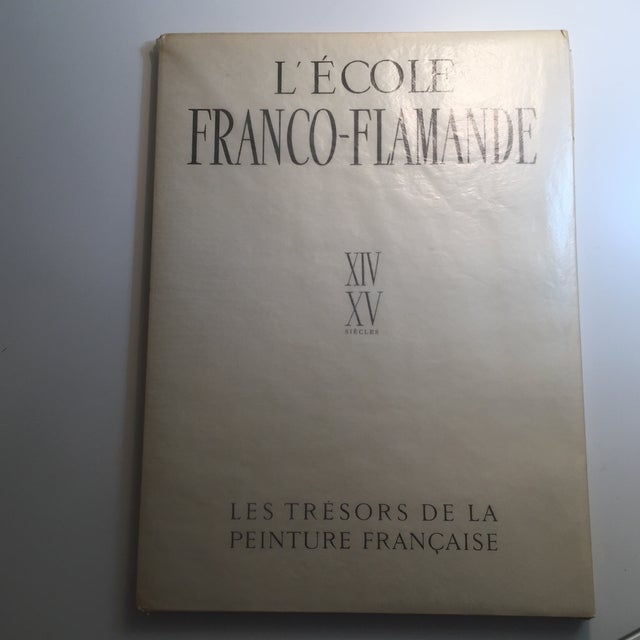 "This is a first edition soft cover of Germain Bazin's folio of prints ""L'Ecole Franco-Flamande"" published by Skira,..."
