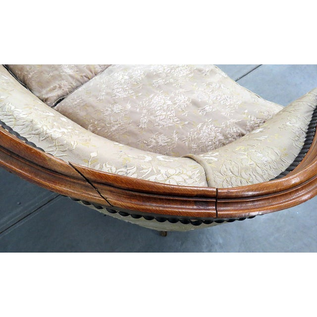 Antique Louis XV Style Settee For Sale - Image 9 of 10