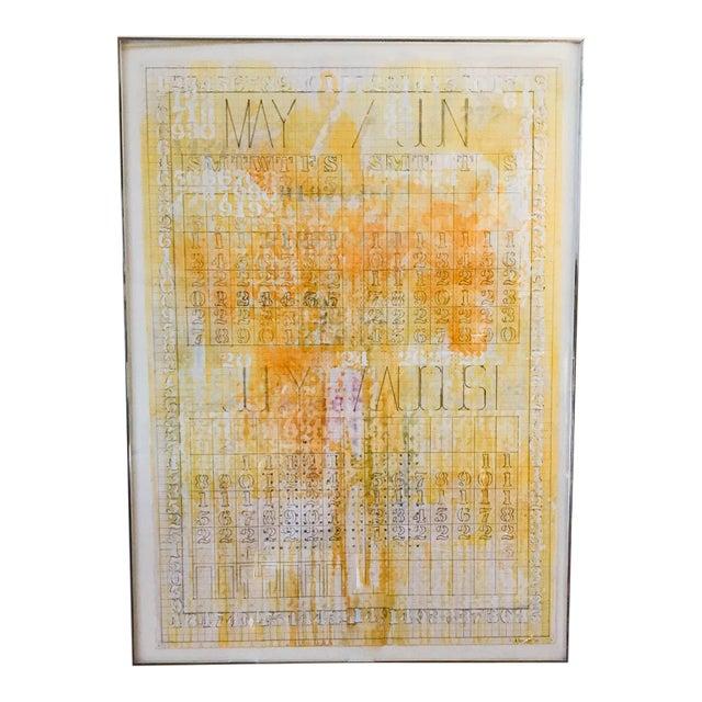 Listed Artist Darryl Nettles Painting - Calendar #1 - Image 1 of 9