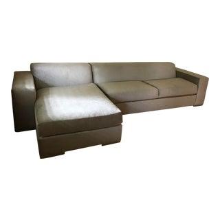 Silver Kravet Custom Sofa