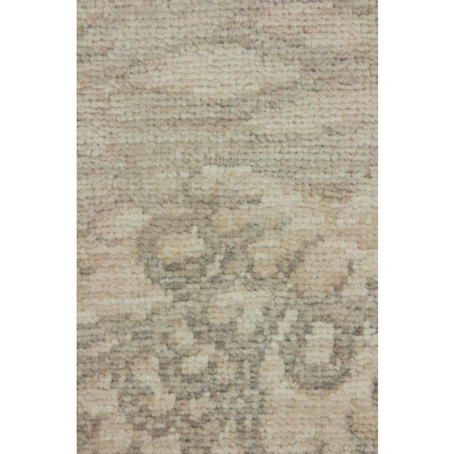 "Islamic Oushak Hand Knotted Runner - 2'7"" X 8'3"" For Sale - Image 3 of 3"