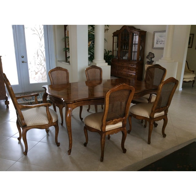 Henredon French Provincial Dining Room Set - S/7 - Image 2 of 7