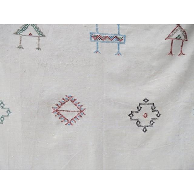 Moroccan Sabra Silk Rug - 5' x 9' - Image 4 of 4