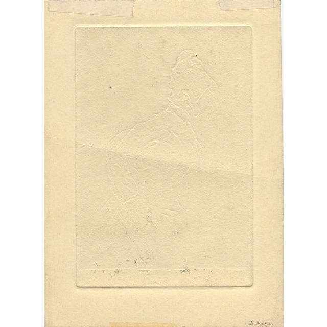 French Henri Boutet (French 1851-1919) Etching For Sale - Image 3 of 3