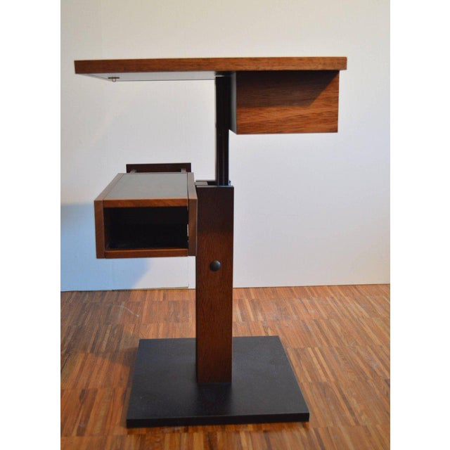 Nightstand Side Table by Bernard Vuarnesson for Sculptures-Jeux in Paris, 1980 For Sale - Image 5 of 8