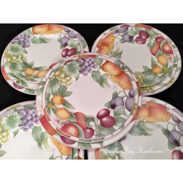 Ceramic Villeroy & Boch, Gallo Design, Frutteto, Chop/Charger Plates - Set of 5 For Sale - Image 7 of 13