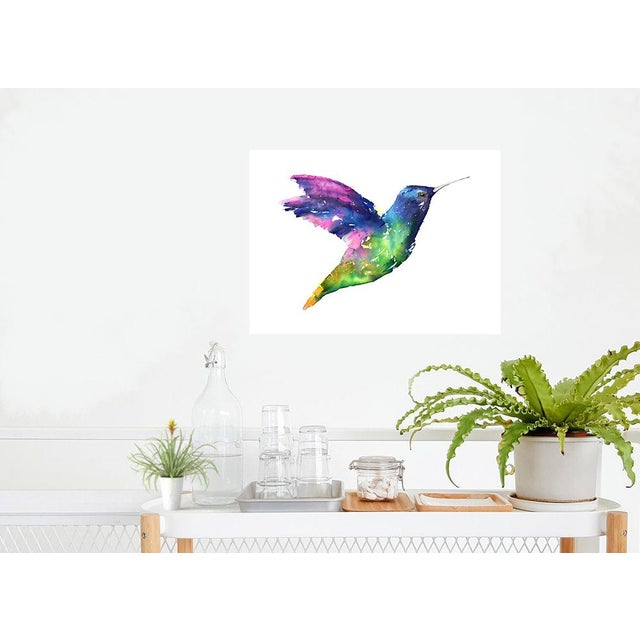 Not Yet Made - Made To Order Natasha Mistry Hummingbird Fine Art Print For Sale - Image 5 of 8
