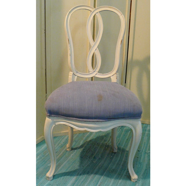 French Early 20th Century Pretzel Chairs- Set of 4 For Sale - Image 3 of 12