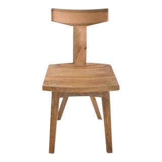 Mango Wood Yoke Back Chair