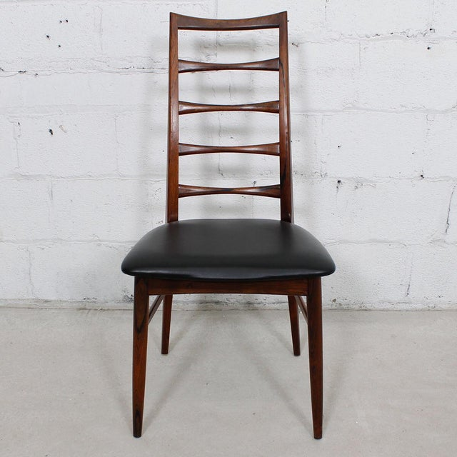 Danish Modern Koefoed Hornslet Danish Modern Rosewood Dining Chairs - Set of 6 For Sale - Image 3 of 10
