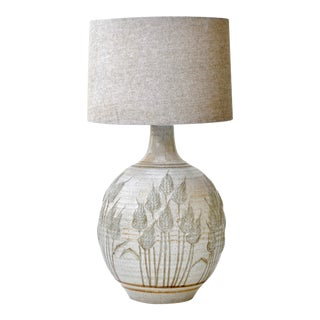 Mid-Century Modern Wishon-Harrell Ceramic Table Lamp For Sale