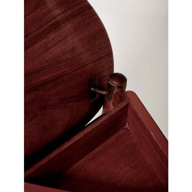Hans Wegner Valet Chair, Made by Johannes Hansen, Denmark, 1950s-1960s For Sale - Image 9 of 11