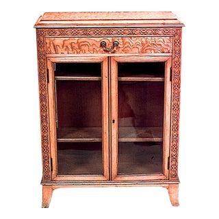 English Late Georgian Ash Cabinet For Sale
