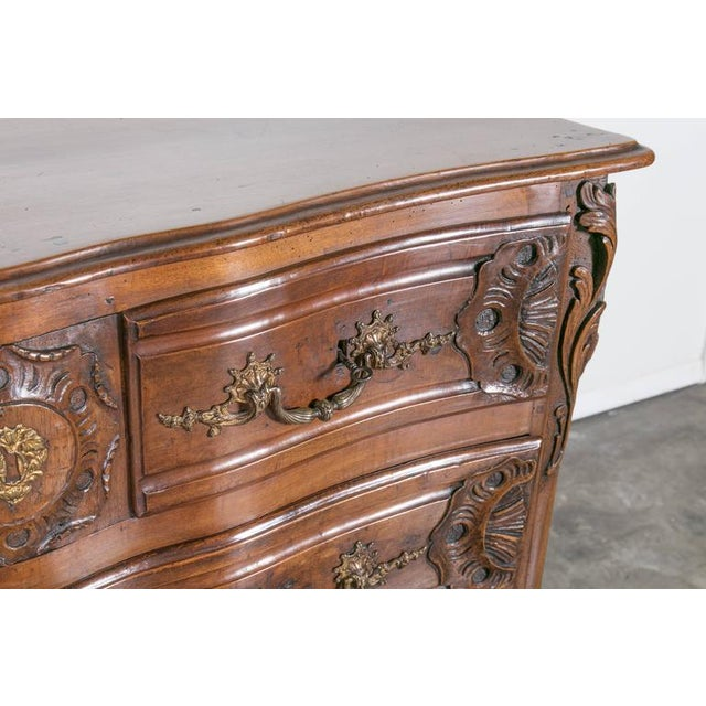 18th Century Regency Period Lyonnaise Commode Galbée For Sale - Image 10 of 10