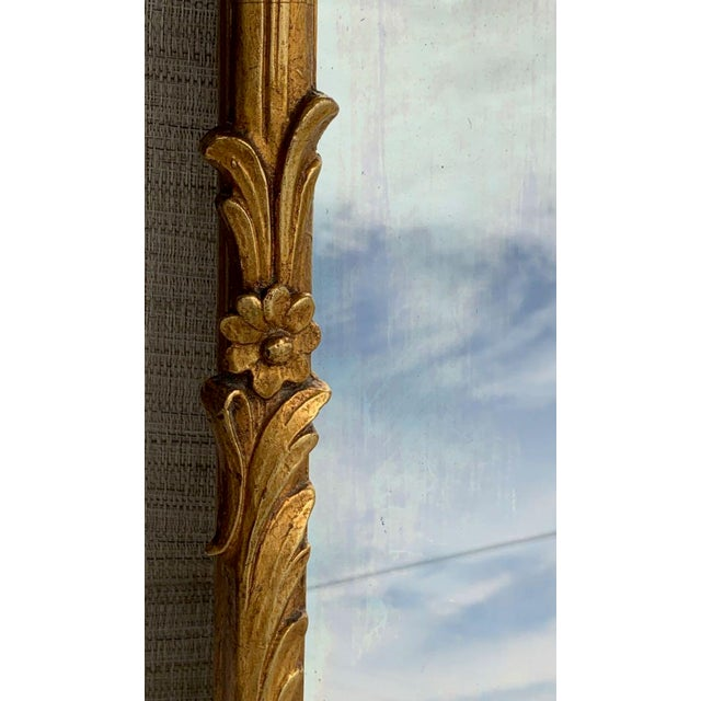 Mid 20th Century Friedman Brothers Trumeau Style Mirror For Sale - Image 5 of 9