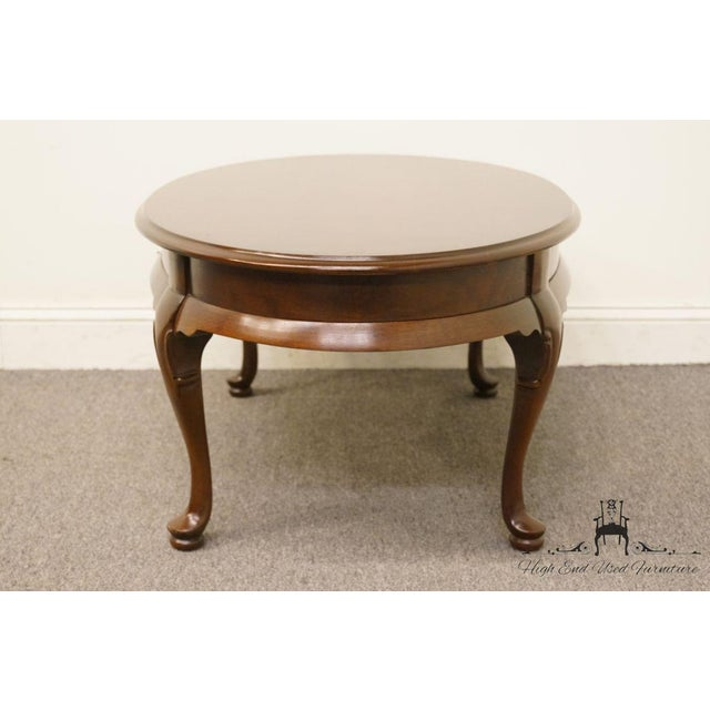Late 20th Century Vintage Hammary Furniture Solid Cherry Queen Anne