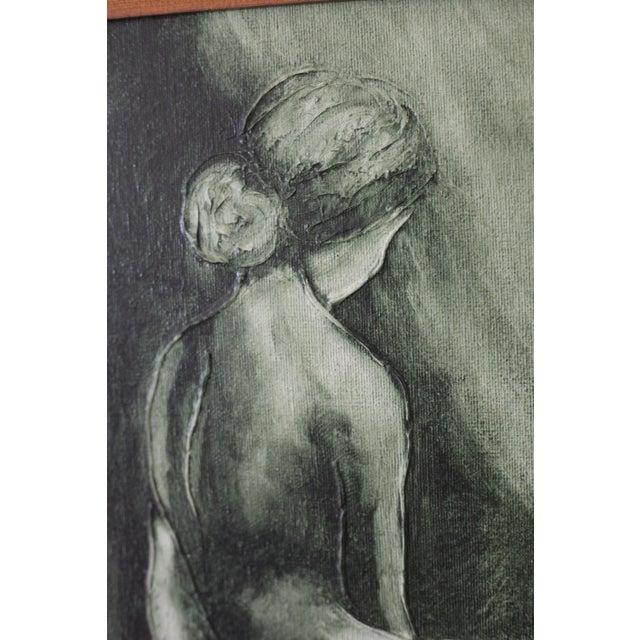 Vintage Mid-Century Nude Woman Portrait - Image 5 of 5