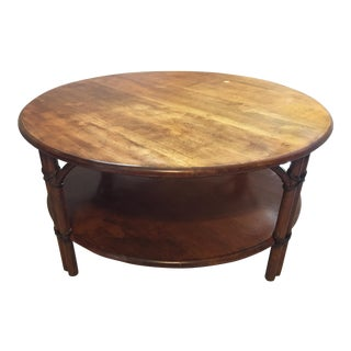 Heywood-Wakefield Round Coffee Table