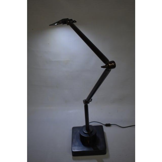 Oblik Studio Inc. Brass and Steel Desk Lamp For Sale - Image 4 of 9