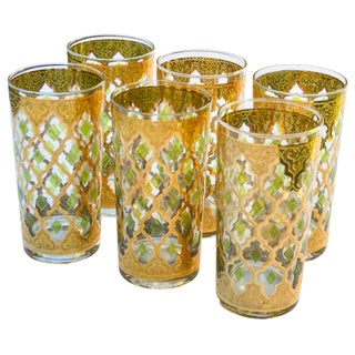 Mid-Century Golden Highballs, S/6 Preview