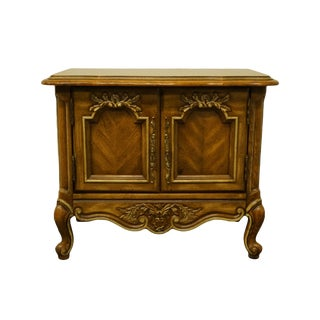 Stanley Furniture Country French Louis XVI Nightstand For Sale
