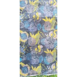 10 Yards Art Deco Design Chinoiseri Cotton Velvet Fabric Throw Preview