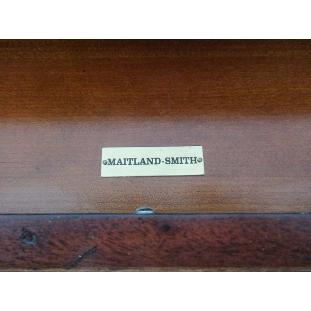Maitland Smith Barley Twist Side or Console Table For Sale - Image 11 of 13