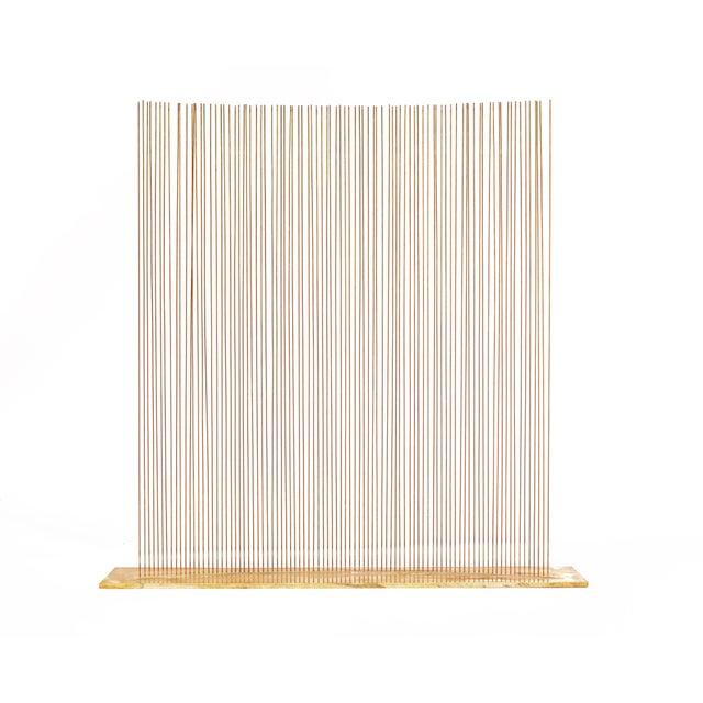 Contemporary Bertoia Studio 90 Rod Sound Sculpture For Sale - Image 3 of 7