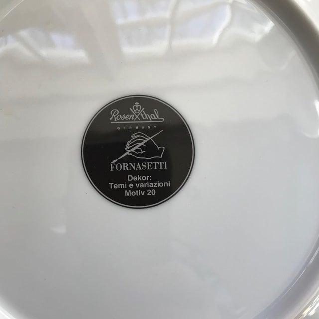 Italian Fornasetti Clock Plate For Sale - Image 3 of 4