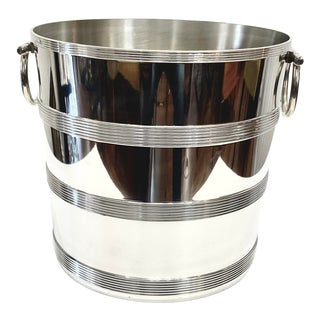 Vintage Champagne and Wine Ice Bucket For Sale