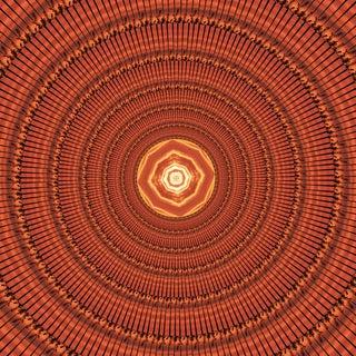 """Abstract """"Ra the Sun God"""" Original Print For Sale"""