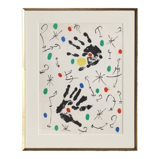 Joan Miró, Les Essencies De La Terra 14, Modern Lithograph For Sale