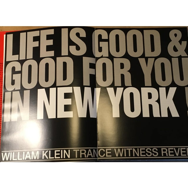 """1990s William Klein """"New York"""" 1954-1955 Coffee Table Photography Art Book For Sale - Image 5 of 13"""