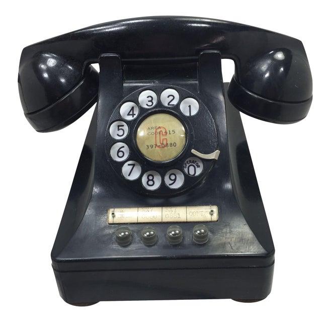 1950 2-Line Telephone WE Model 440EG Black - Image 1 of 8