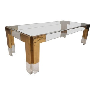 Mid-Century Charles Hollis Jones Style Coffee Table For Sale