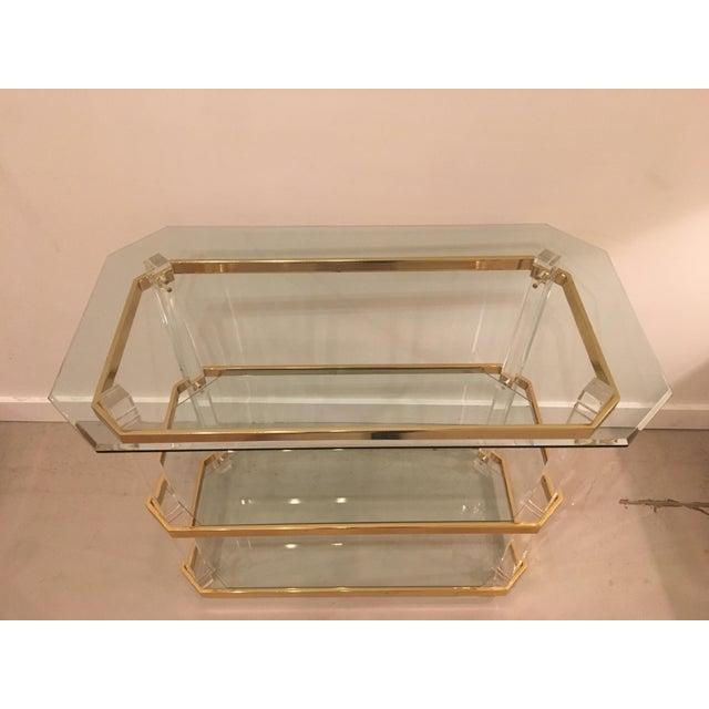 Vintage three tier table - Image 4 of 8