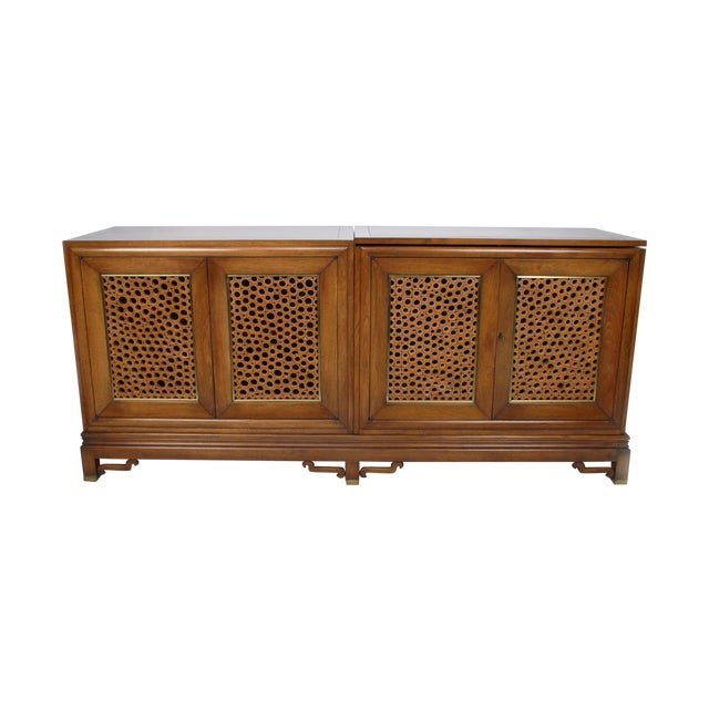 Signed Pierre Bartet Walnut Bar Cabinet - Image 1 of 11