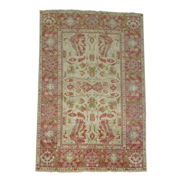 Vintage Vegetable Dyed Persian - 6'2'' X 8'6'' For Sale