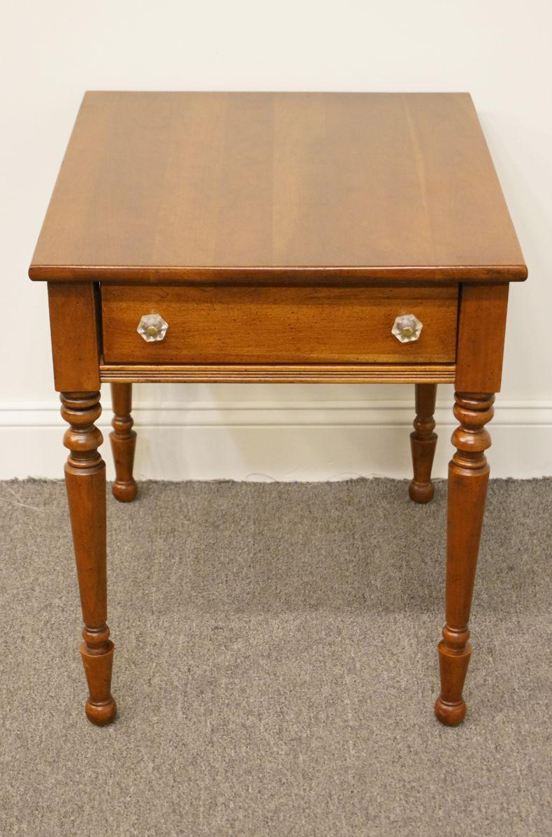 Lane Furniture Solid Cherry Wood End Accent Table Chairish