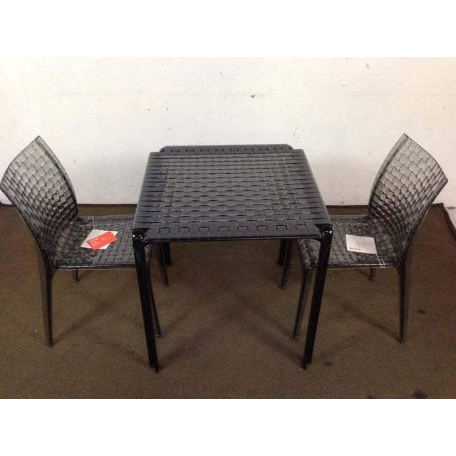 """Kartell """"Ami Ami"""" Table and Pair of Matching Side Chairs by Tokujin Yoshioka - Image 10 of 10"""