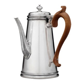 Paul De Lamerie Britannia Silver Coffee Pot For Sale