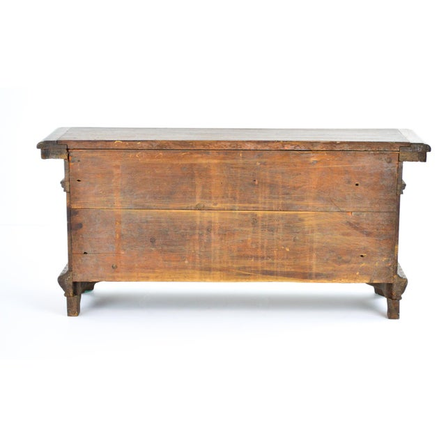 19th Century Antique Miniature Sideboard - Image 5 of 10