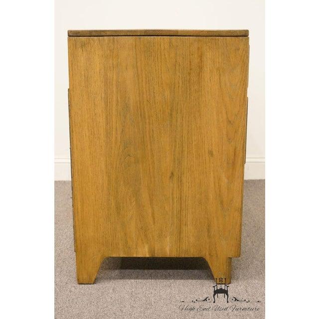 """Davis Cabinet Co. Solid Oak Richwood Finish 48"""" Vanity For Sale - Image 11 of 13"""
