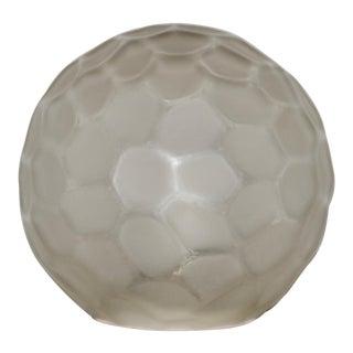 Genet & Michon (France) Art Deco Glass Globe Table Lamp C.1920s For Sale
